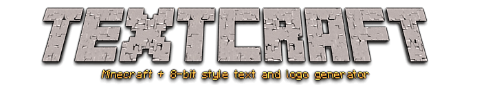 Textcraft - Minecraft server icon erstellen